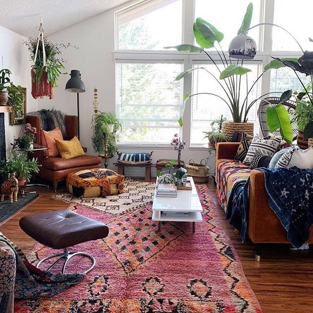 Image May Contain People Sitting Living Room Table Plant And Indoor Regram Via Generated Home Decor House Styles Bohemian Interior Design