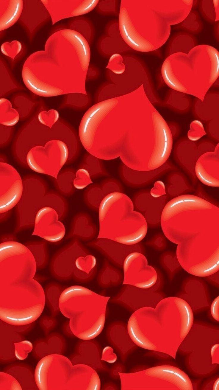 Pin By Basia Zuzia On Flowers Diy Cute Love Wallpapers Heart Wallpaper Valentines Wallpaper