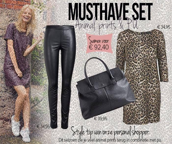 Musthave set: Animal prints & PU