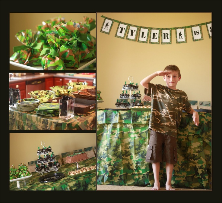 army themed party supplies australia