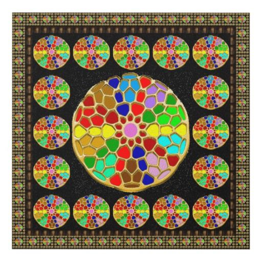 Paintings Reproduction Choose a size Chakra Wheels