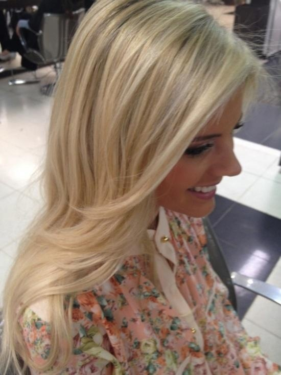 Platinum Blonde Hair With Highlights And Lowlights