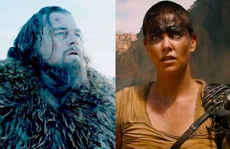 """A lista dos indicados ao Oscar 2016: """"O Regresso"""" e """"Mad Max"""" lideram as indicações"""