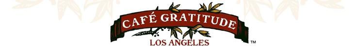 cafe gratitude - LA