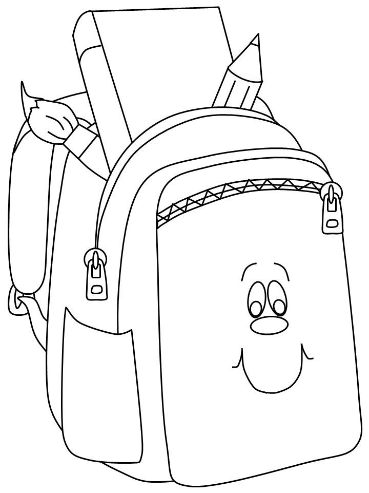 11 Places To Find Free Back To School Coloring Pages Desenhos