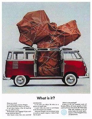 VW Bus Advertising