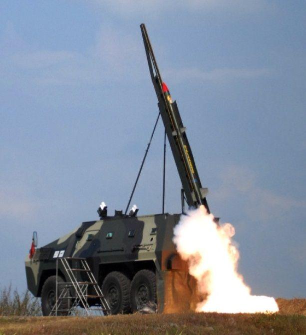 Anoa PINDAD INDONESIA Rocket version