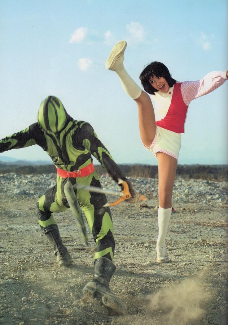 Dyna Pink — Kagaku Sentai Dynaman —Japanese Power Rangers #japan #sentai #supersentai