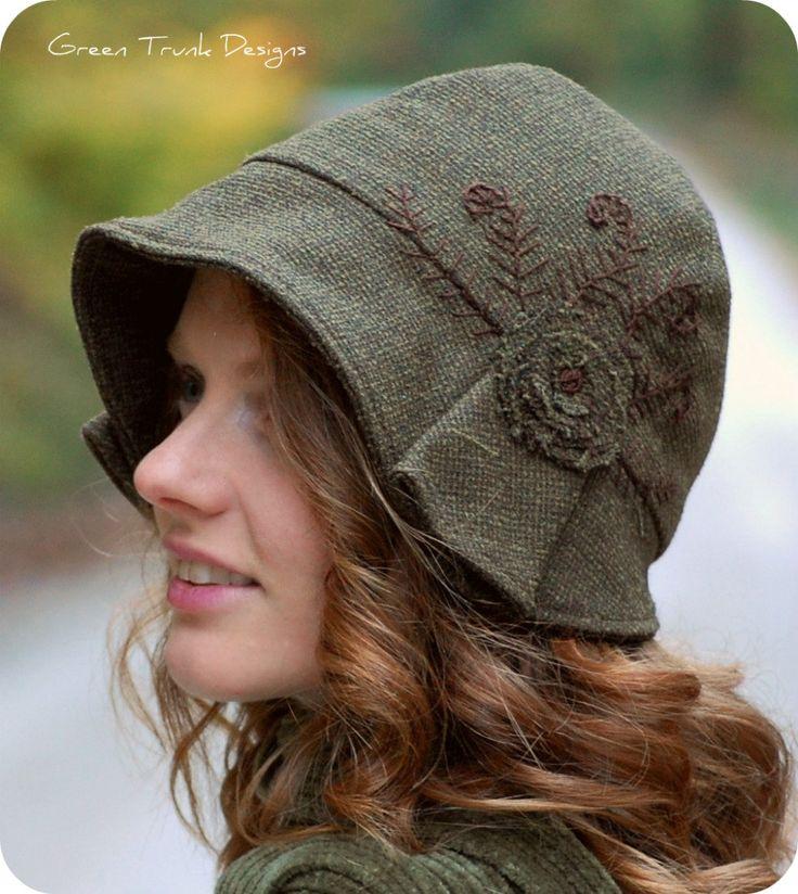 Fern Cloche Hat #millinery #judithm #hats