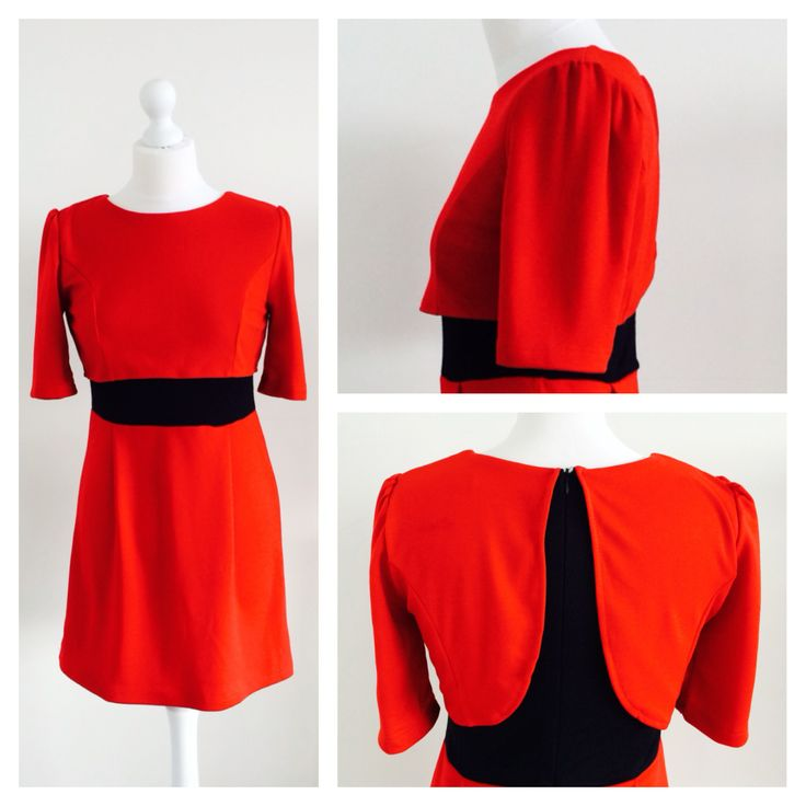 www.thedressbox.co.uk Rosy. Red.