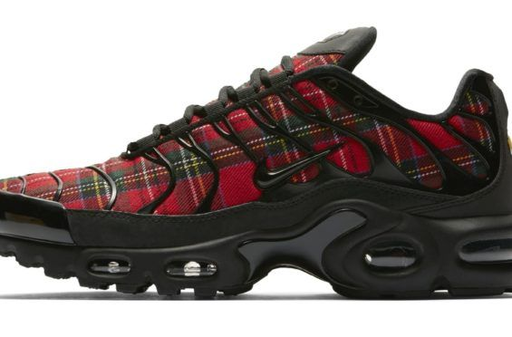 best service d3af0 c34ec The Nike Air Max Plus Tartan Comes Covered In Plaid