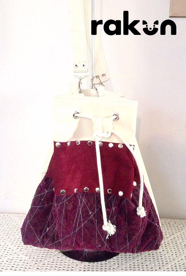 La mezcla perfecta de texturas en Eco cuero, detalles en Ecotex (nuestra tela realizada a mano con desechos textiles) y reno reciclado...  www.facebook.com/rakun.dt