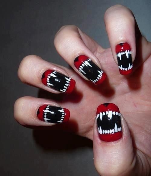 Wolf Teen Nail Art Pictures, Photos, and Images for Facebook, Tumblr, Pinterest, and Twitter