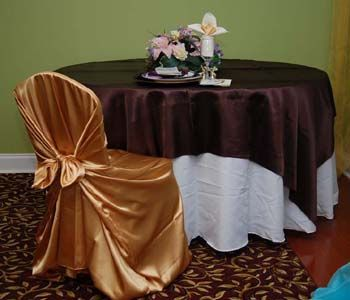 Chair Cover rentals, Atlanta, GA - Wedding Linen Rentals,Invitations, Favors, Decorations, and more! http://www.kingschaircover.com/chaircover.php#