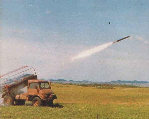 South African Artillery: Valkyri 127mm Multiple Rocket Launcher