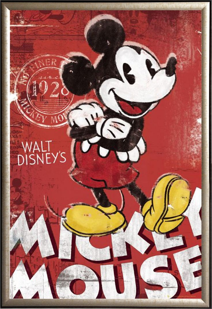 vintage mickey mouse posters  Google Search  anything