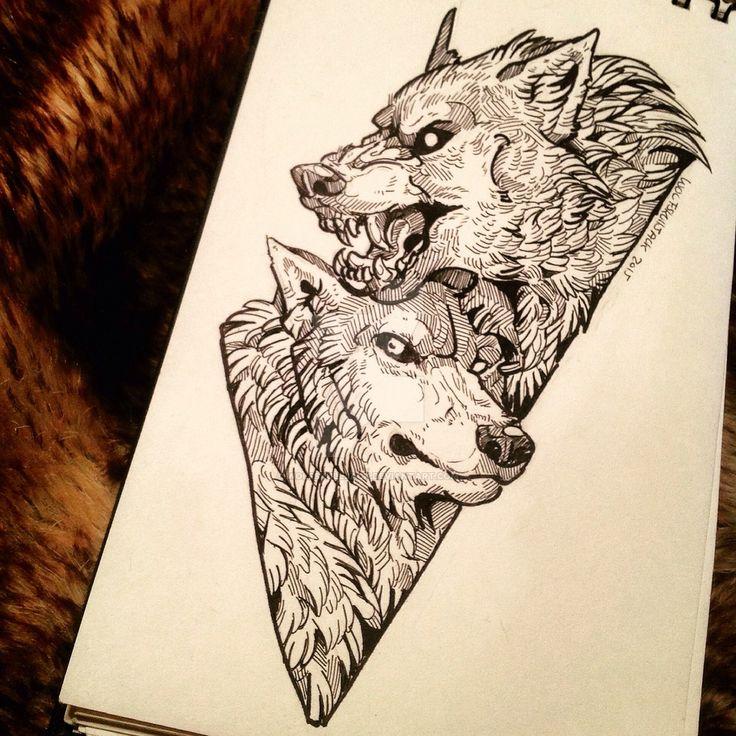 The Pack by WolfSkullJack.deviantart.com on @DeviantArt