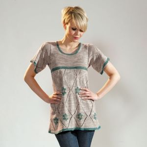 Tarragon Tunic Free Knitting Pattern when you Buy as a Kit