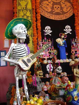 Bazar del Sabado Dia de los Muertos