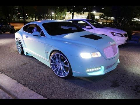 WhipAddict: Yo Gotti's CMG Tiffany Edition Bentley Continental GT on F2....