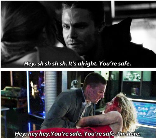 Arrow - Oliver and Felicity #2.7 #3.1 #Olicity ♥