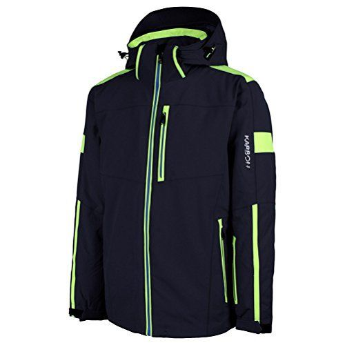 Karbon's Equipe line is influenced by World Cup Racing, and therefore is cut slightly shorter and trimmer to provide a classic, streamlined look. For the skier that demands a lot from a jacket, the Apollo Mens Insulated Jacket won't disappoint. As your speeding down the slopes...  More details at https://jackets-lovers.bestselleroutlets.com/mens-jackets-coats/active-performance/insulated/product-review-for-karbon-apollo-mens-insulated-ski-jacket/