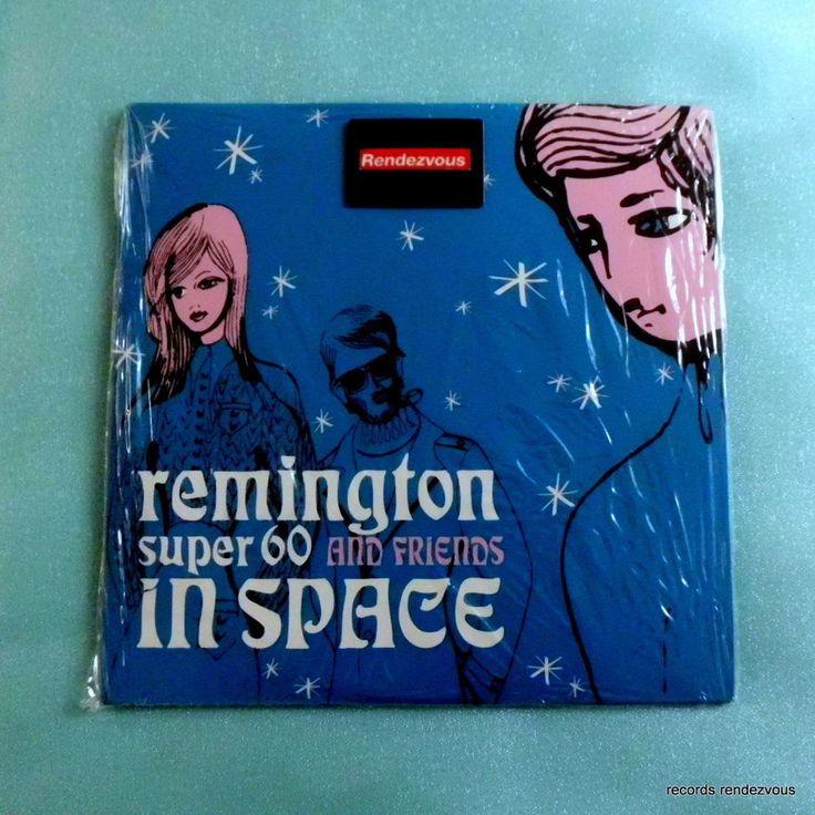 Remington Super 60 & Friends RS60 In Space CD-Single *NEW 2001 Apoptygma Berzerk #AlternativeIndie