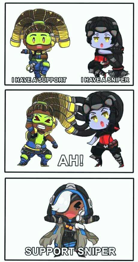 A special look into the fusion of Lucio and Widowmaker! X3