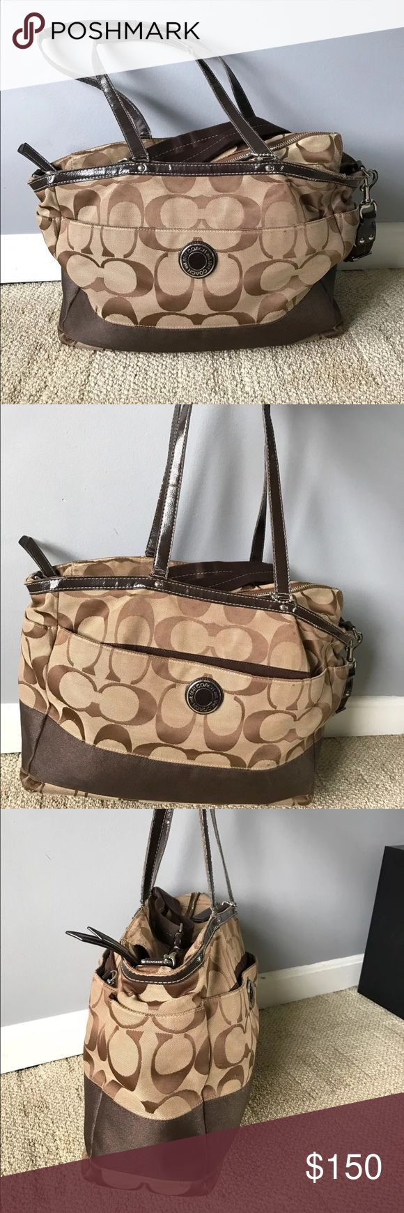 Coach diaper bag In GUC. Coach diaper bag, authentic! Coach Bags Baby Bags