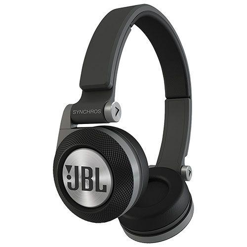 JBL Synchros E40BT On-Ear Sound Isolating Bluetooth Headphones with Mic (E40BTBLK) - Black : On-Ear Headphones - Best Buy Canada
