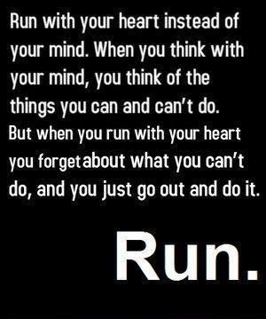 This is so true...I've been out running before and have been smiling so much…