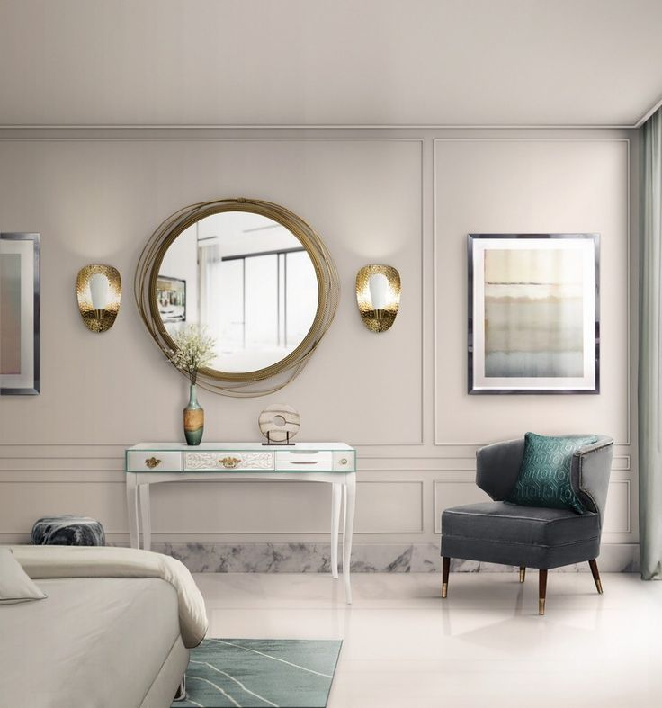 Be Astonished by the Boldest Bedroom Mirrors