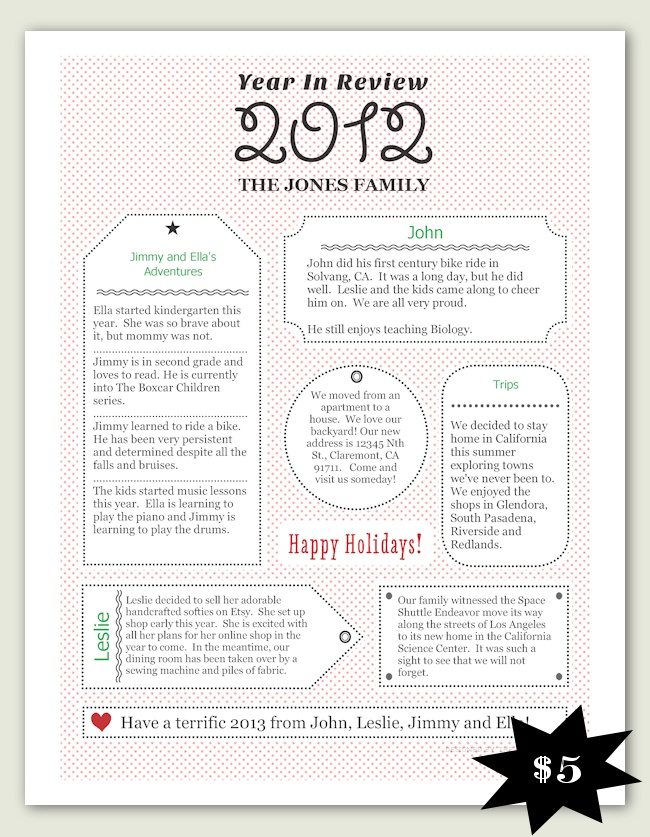 13 best Letter Templates images on Pinterest Christmas letters - christmas letter template free