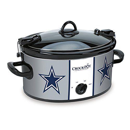 Crock-Pot SCCPNFL600-DC Cook and Carry Slow Cooker, 6-Quart, Dallas Cowboys Crock-Pot http://www.amazon.com/dp/B00LHNEDRU/ref=cm_sw_r_pi_dp_03jSub0T94FMV
