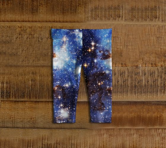Blue Galaxy Baby Leggings - Available Here: http://artofwhere.com/shop/product/73062