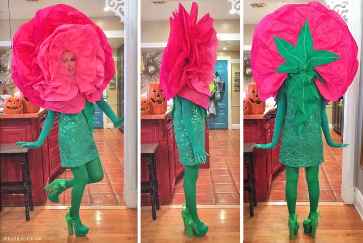 Flower Costume - thebeautifulcircus.com