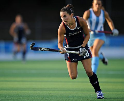 Michelle Kasold, a striker, has been a member of the U.S. field hockey team since 2006 and will compete in her first Olympics in London this summer.