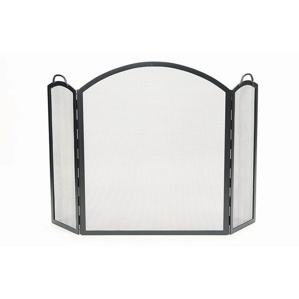You'll love the Arched 3 Panel Wrought Iron Fireplace Screen at Wayfair - Great Deals on all Home Improvement products with Free Shipping on most stuff, even the big stuff.