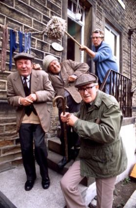 (PHOTO: Rex)  Travel quiz: Can you name Britain's famous TV locations?   10 - Last of the Summer Wine  Last of the Summer Wine was filmed on location in Holmfirth, West Yorkshire. Visit Sid's Cafe and Nora Batty's Steps in the small town, and while you're at it, admire the spectacular Holme Valley, which surrounds Holmfirth. During the day, Sid's Cafe showcases the Summer Wine Exhibition and TV location tour, giving you the chance to visit some of the popular locations featured in the series