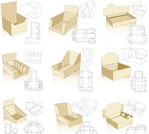 Moldes e ideas para packaging   Puerto Pixel   Recursos de Diseño