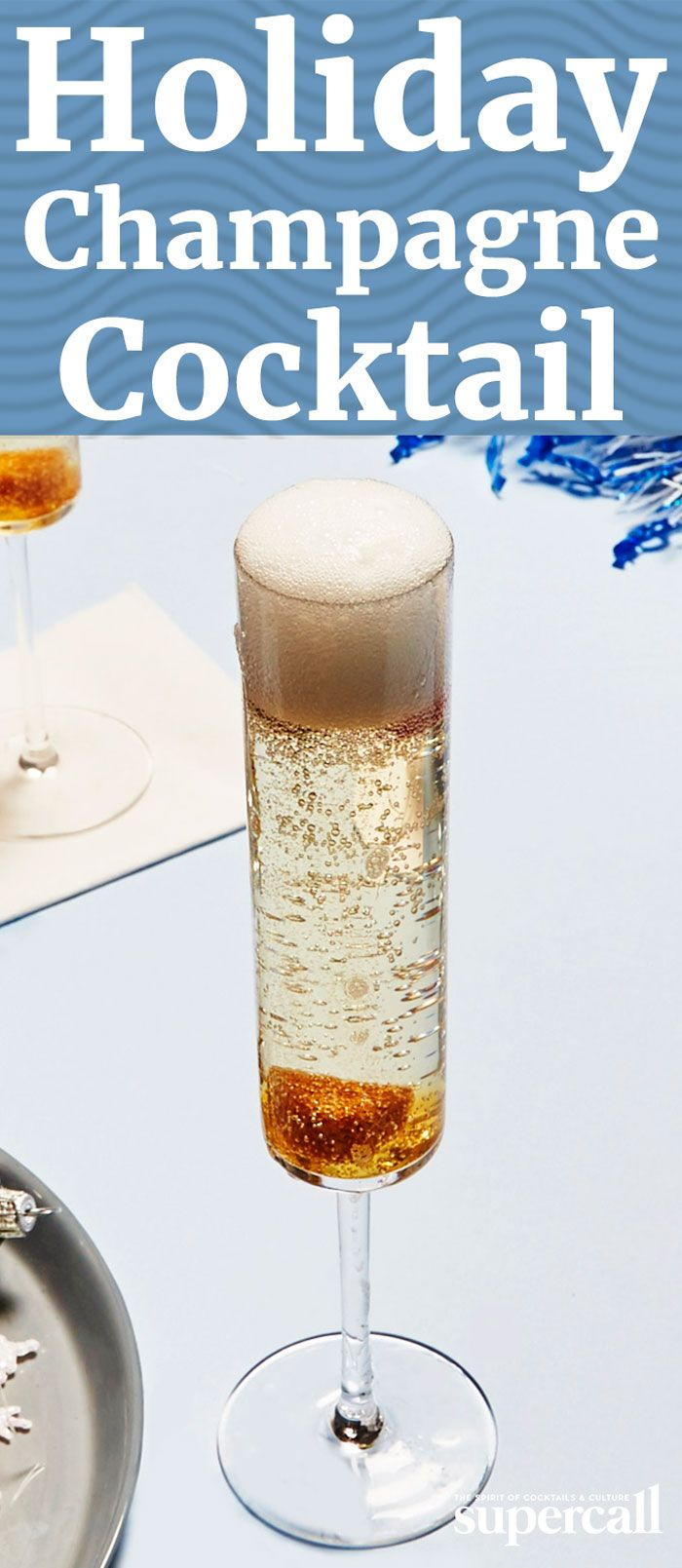 Inspired by the Champagne Cocktail, this effervescent tipple is crisp and delightful. Made with apple brandy (buy Calavados if you're feeling fancy) and a demerara sugar cube soaked with Nocino (an ancient italian liqueur made from green walnuts), it has a fruit-forward richness.