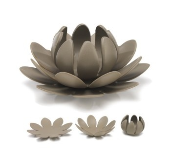 Of course I love this candle holder, given my company name is Lotus!
