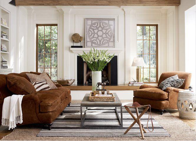 32 Best Brown Amp White Home Decor Images On Pinterest