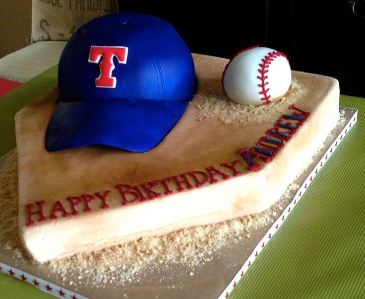 Texas Rangers birthday cake