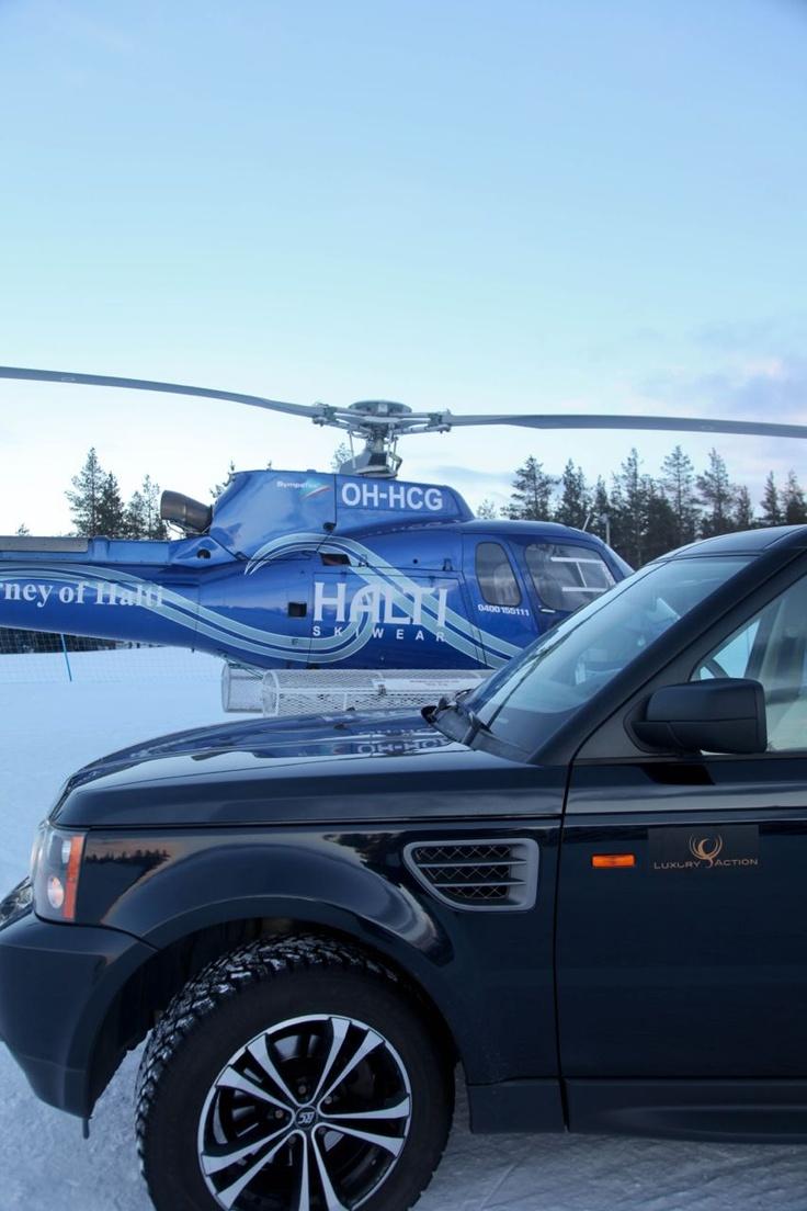 #LuxuryAction #Lapland #Finland
