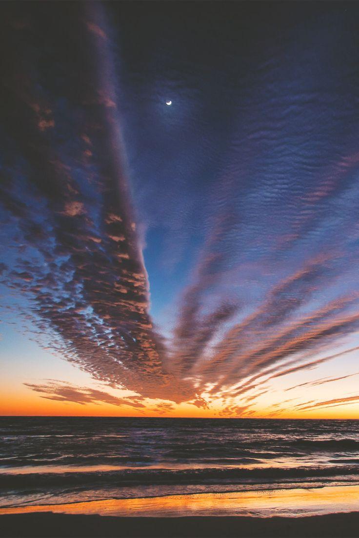Florida Winter Sunset on Lido Beach