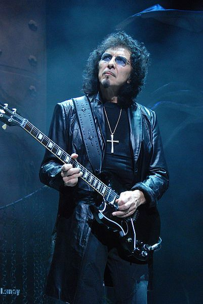 Tony Iommi from Black Sabbath. Got a personal photo signed by Tony Iomi to me, shall treasure it for ever.