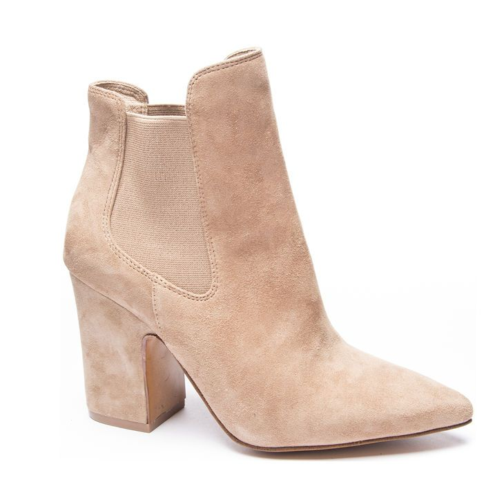 The perfect neutral booties for fall! Kristin Cavallari by Chinese Laundry STARLIGHT. Fall Fashion, Chelsea boots