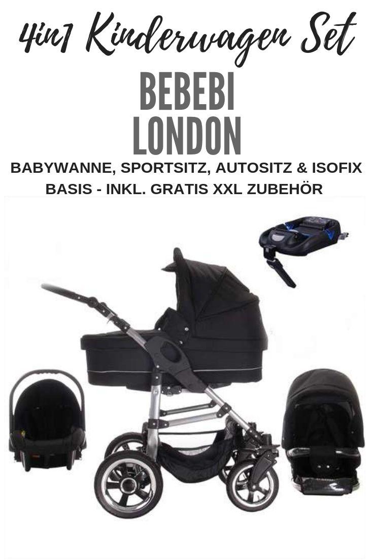 Bebebi London Isofix Basis Autositz 4 In 1 Kinderwagen Set Farbe Tower Bridge Luft Kinderwagen Set Kinderwagen Und Kinder Wagen