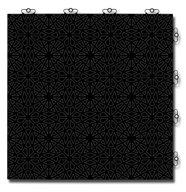 TOP TILE Design: Black Prism